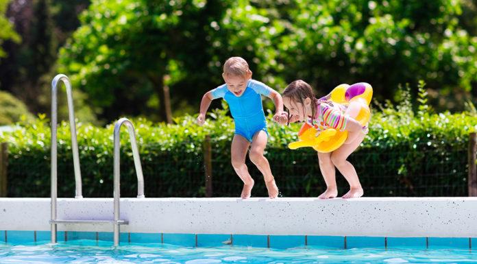Ein sauberer Pool mit einfachen Mitteln