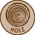 Nachhaltiges Material: Holz