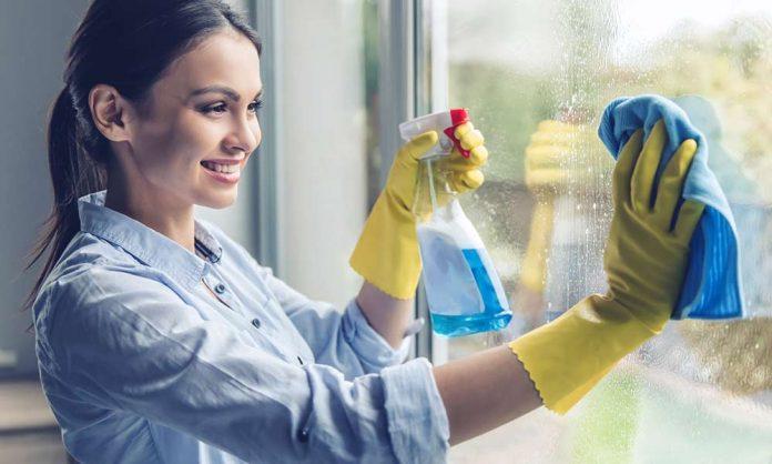 Spaß beim Putzen