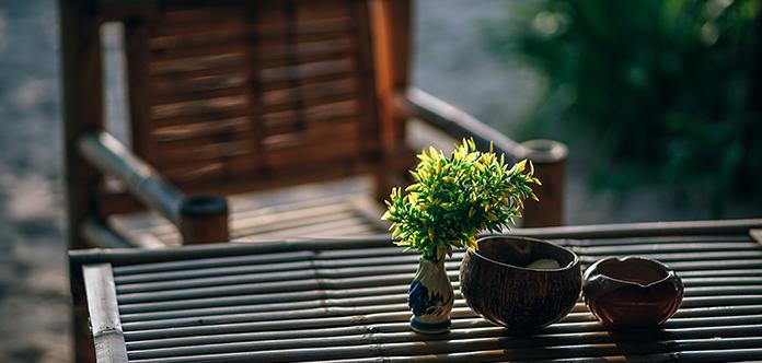 Bambusmöbel sind schön und nachhaltig