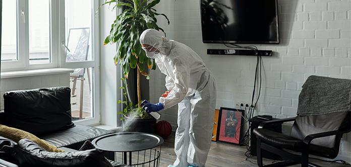 Eine saubere Wohnung sorgt für Sicherheit und Wohlbefinden.